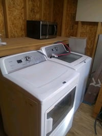 white front-load clothes washer and drywe Albuquerque, 87120