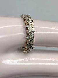10K diamond ring vintage style  Fresno, 93701