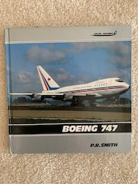 Boeing 747 Vintage Picture Book P.R. Smith Collectible RARE HARDCOVER  Carrollton, 75010