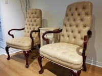 Leather High back Accent Chairs Ajax, L1Z