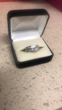 Diamond engagement and wedding band Warrenton, 20186