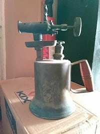 Vintage brass torch