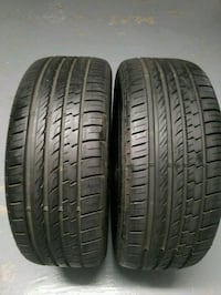 Two p225/50R17 Michelin  23 mi