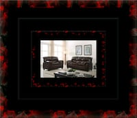 Burgundy sofa and loveseat Washington, 20018