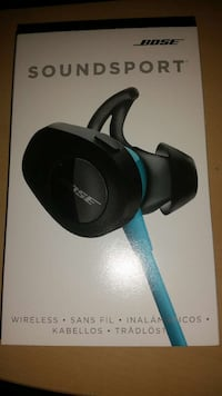 Cuffie Bleutooth wireless Bose soundsport nuove Palermo, 90123