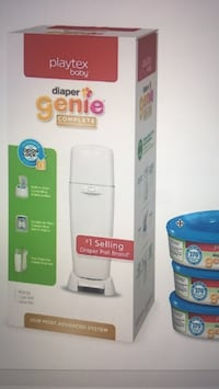NEW- Playtex Diaper Genie Elite Diaper Pail with 3pack refills Rockville, 20850