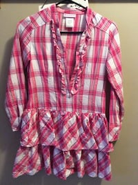 pink and white plaid blouse Decatur, 46733