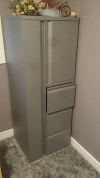 Solid metal storage and filing cabinet Norwich, N0J 1P0