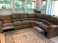 Leather Sectional from La-Z-Boy Alexandria