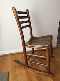 brown wooden rocking chair with brown wooden frame Rockville, 20850