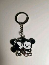 Mickey and Minnie keychain