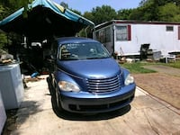 blue Chrysler PT Cruiser hatchback