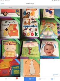Baby and Toddler Board Books (50+ titles) Toronto, M5R 1V3