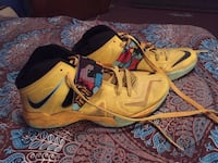 "Nike V11 Lebrons ""pop art"" - shoes are older and need cleaned. Size 9 New Castle, 16105"