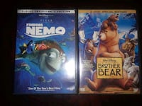 2 Disney's DVD: Finding Nemo & Brother Bear Miami, 33193