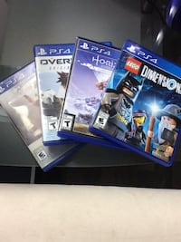 Ps4 games all in good condition Langley, V3A 2E7