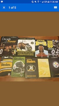 Pittsburgh Steelers Media Guides And books 153 mi