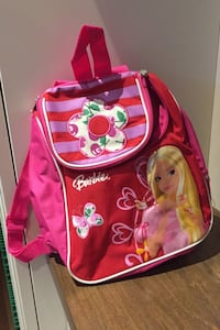 Child's Barbie backpack