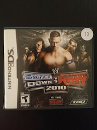WWE Smackdown vs Raw 2010 for Nintendo DS  Vaughan, L4L