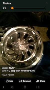 4 16inch rims Lawrence