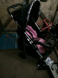 baby's black and pink stroller O'Fallon, 63366