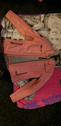 Pink and Gray Harley Davidson leather jacket  York Haven, 17370