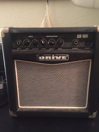 black and gray Drive guitar amplifier Jacksonville Beach, 32250