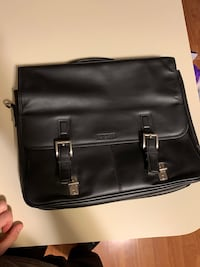Kenneth Cole leather Briefcase laptop bag Stamford, 06902