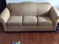 gray fabric 3-seat sofa Sharpsburg, 21782