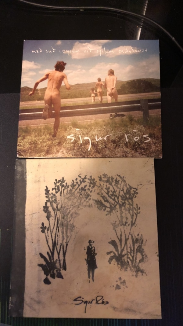 Sigur ros albums (takk and the one with festival)