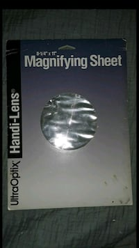 Book Magnifying Sheet Reisterstown, 21136