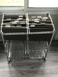 Rolling File Cart