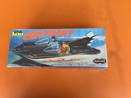 Batman Bat Boat Model Kit