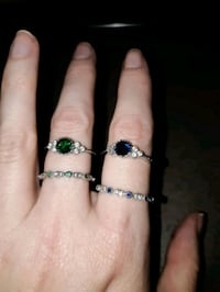 1 EMERALDS and Sapphires  in Platinum   Edmonton, T6R 3N7