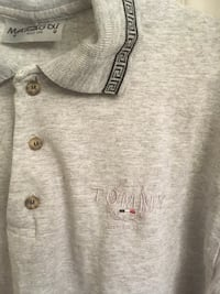 Tommy Sports grey shortsleeve Surrey, V4N