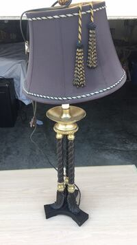 Black and gold table top lamp Fort Myers Beach, 33931