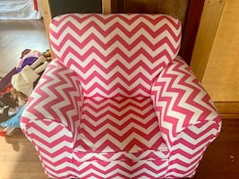 Young girls upholstered chair