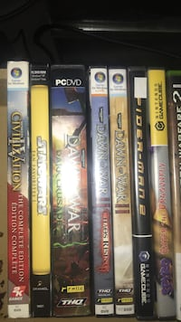 Pc/GameCube games North Dumfries, N0B
