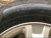 Ford all season tires on rim's 245x65x17 inch, bolt size 5x114.3 Mississauga, L5N