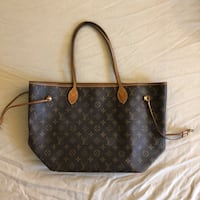 Brown monogram Louis Vuitton leather tote bag Brentwood, 94513