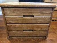 brown wooden 3-drawer chest New Rochelle, 10801