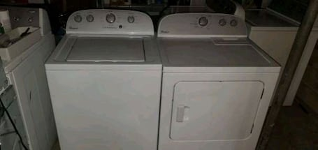 Veterans Day Free Delivery Whirlpool He Electric Washer Dryer Set