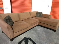 Lazy boy sectional couch wit chase loung excellent Chesapeake, 23325