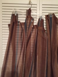 2 panel curtains $10