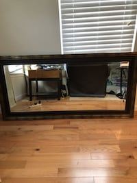 Big mirror ...was in hanging in Dining room  SPRINGFIELD