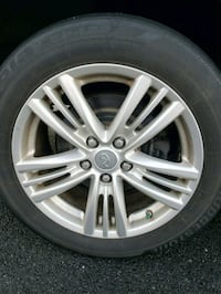 Infiniti G37x wheels and tires Falls Church, 22043