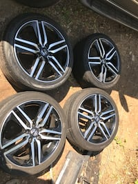 5 star Honda sport 19inch rims for sale 28 km