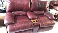 brown leather home theater sofa Los Angeles, 91326