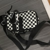Checkered side bag/camera bag   Vancouver, V5N 2C5