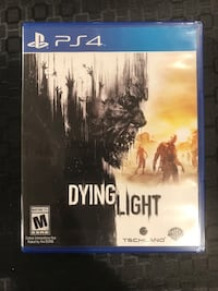 Selling Dying Light PS4 mint